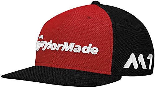 TaylorMade Golf 2017 tour new era 9fifty hat red black - Buy Online in UAE.   8acc0968bb7