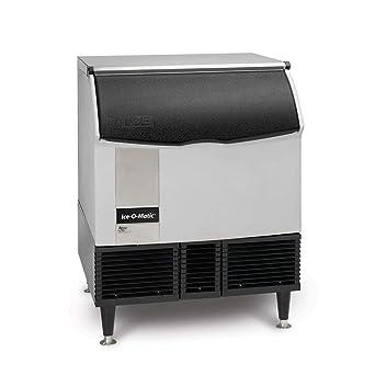 Ice-O-Matic ICEU220FA ICE Series Undercounter Cube Ice Machine with Bin, 238-Pound, NSF