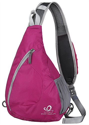 WATERFLY Backpacks Crossbody Shoulder Triangle