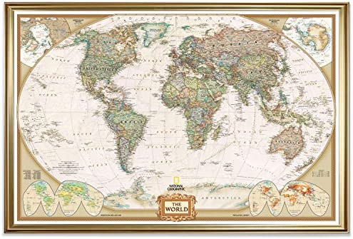 Renditions Gallery Executive National Geographic Travel Map
