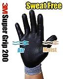 3M Super Grip Garden Work Gloves- 3 PACK (Large)