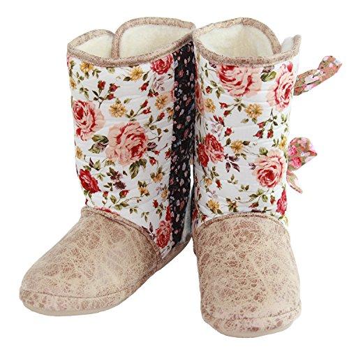 - CicciaBella Fleur Jardin Boot Slipper (Small)