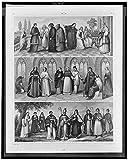 Photo: Saint Augustine,Saint Anthony,Saint Basil,Armenian,Maronite,Monks,Nuns,1851