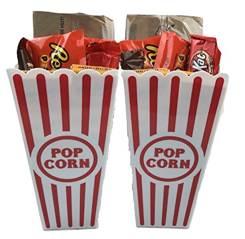 Movie Night Gift Bundle Care Package, Valentines, Easter Basket, Christmas, ()