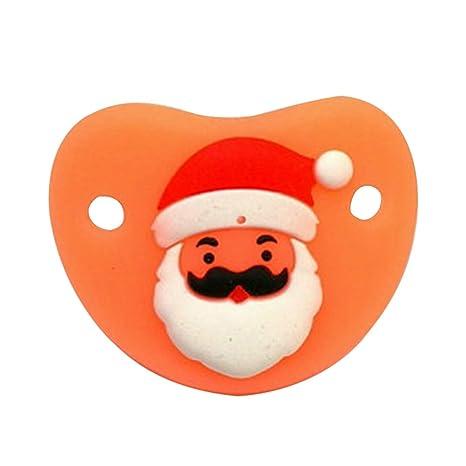 Chupete Infantil Artículo de Navidad de Chupete de Silicona ...
