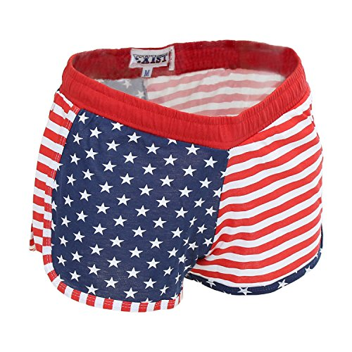 Women's Juniors Proud to be An American USA Flag SHORTS EXS3132 S