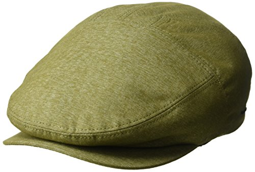 Cotton Lined Ivy Cap - Bailey of Hollywood Men's Keter Ivy Cap, Loden, XL