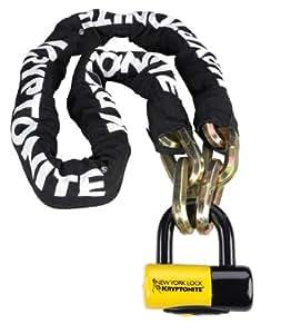"Kryptonite New York Fahgettaboudit 1410 Bicycle Chain and New York Disc Bike Lock, 14mm x 39"""