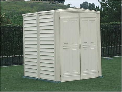Duramax modelo 00711 5 x 5 yardmate vinilo cobertizo con suelo: Amazon.es: Jardín