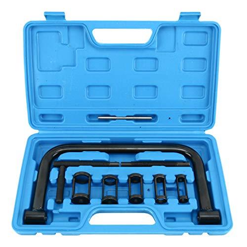 FreeTec 10pcs Valve Spring Compressor Automotive Tool Set Repair Tool for Auto Motorcycle ATV Small Engine: