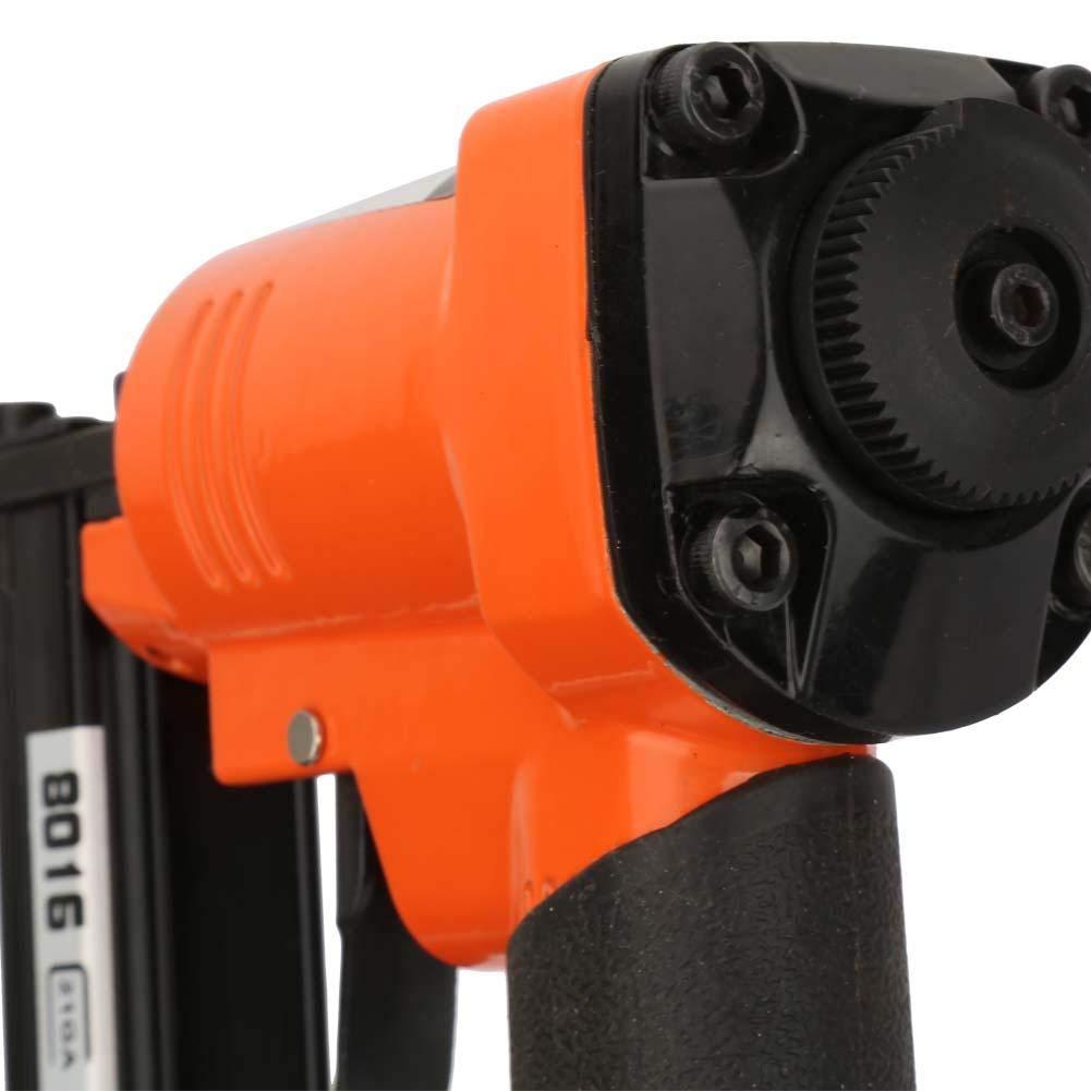 cloueur pneumatique 0.95 * 0.65mm pistolet /à agrafeuse 21GA de type pneumatique U de pistolet /à clou droit Agrafeuse agrafeuse cloueur droit