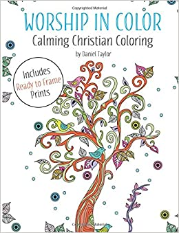 Amazon Worship In Color Calming Christian Coloring Book 2 A Reflective And Expressive Anti Stress 9781910771877 Daniel Taylor Books