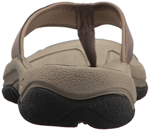 KEEN Mens Kona Flip-M Flat Sandal, Bungee Cord/Raven, 8 M US