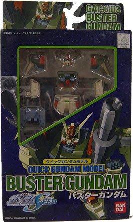 Gundam Seed Quick Model Kit Buster Gundam