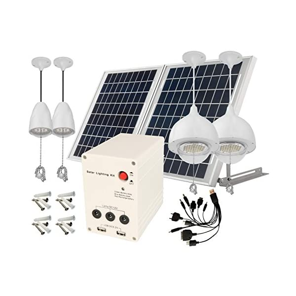 4-Lamps-25W-Solar-Pane-Lithum-Battery-Solar-Home-System
