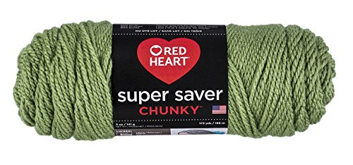 Red Heart Super Saver Chunky, Tea Leaf Yarn