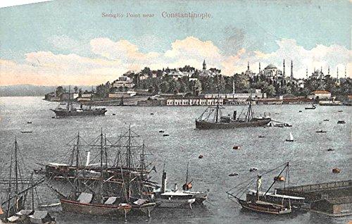 Seraglio Point Constantinople Turkey -