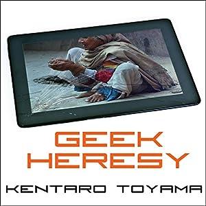 Geek Heresy Audiobook