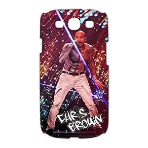 Custom Chris Brown Hard Back Cover Case for Samsung Galaxy S3 CL1263