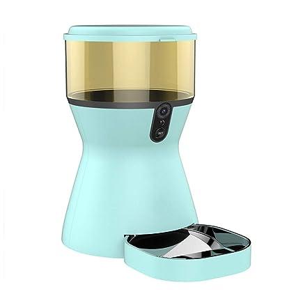 FELICIPP Alimentador de Mascotas automático Alimentos para Perros Tiempo de Comida para Gatos Alimentador cuantitativo Gato