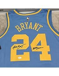 46df29395de Kobe Bryant Autographed Signed Minneapolis Lakers Mpls Jersey Black Mamba  Memorabilia JSA