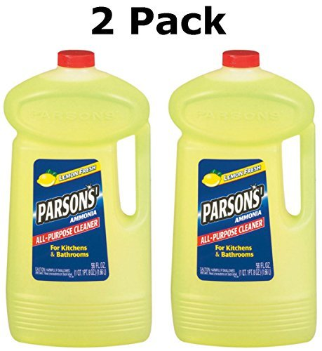 - Parsons Ammonia All-Purpose Cleaner, Lemon, 56 oz (2 Pack)