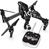 Skin For DJI Inspire 1 Quadcopter Drone – Fashion | MightySkins Protective, Durable, and Unique Vinyl Decal wrap cover | Easy To Apply, Remove, and Change Styles | Made in the USA
