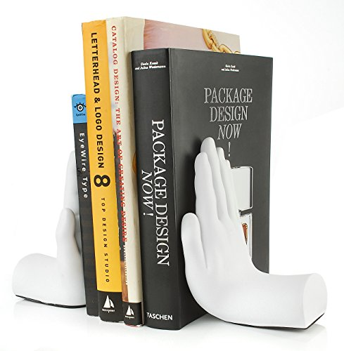 Bookends Fun (Tech Tools Stop Hand Bookends - Desktop Madness Series (HS-8003))