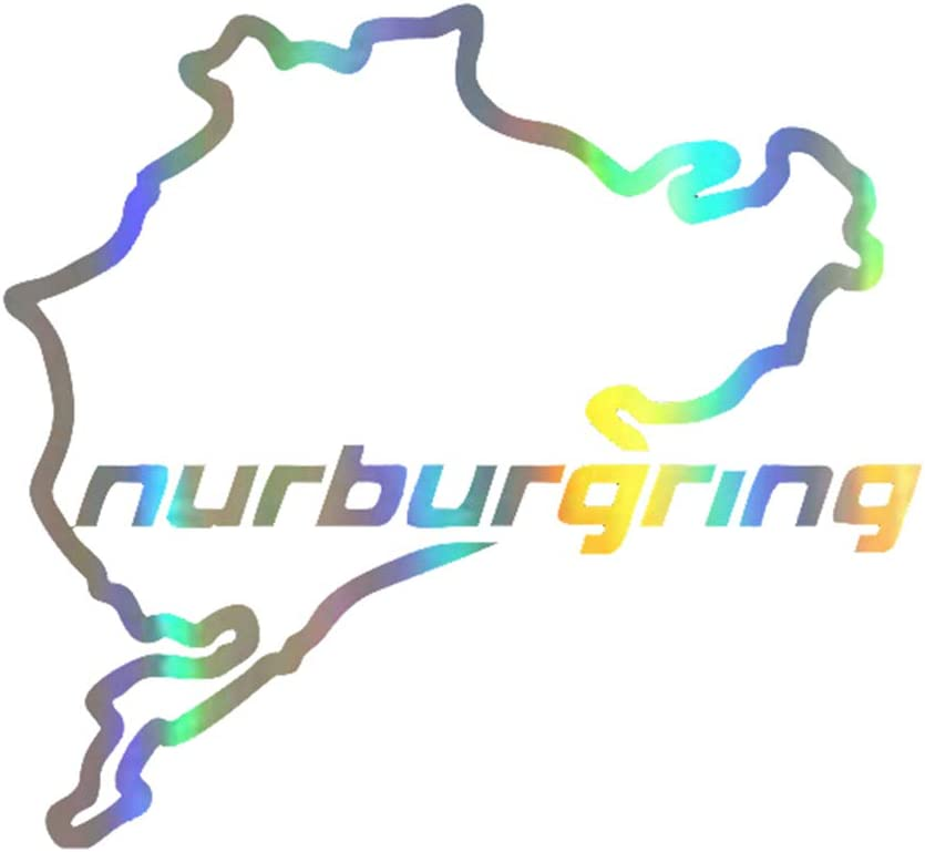 Racing Road Racing Nurburgring Creative  Window Stickers Personality Decoration
