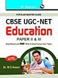 CBSE UGC-NET/SET: Education (Paper II & III) JRF and Assistant Professor Exam Guide