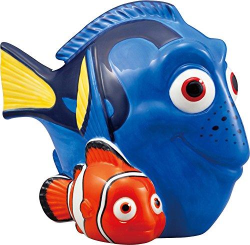 San Art Disney Finding Nemo Dolly piggy bank 17.8 ~ D9.8 ~ H13.5 MADE IN JAPAN