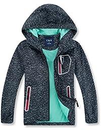 70a5bdc16 Boys Rain Jacket – Lightweight Waterproof Jacket for Boys with Hood,Best  for Rain School