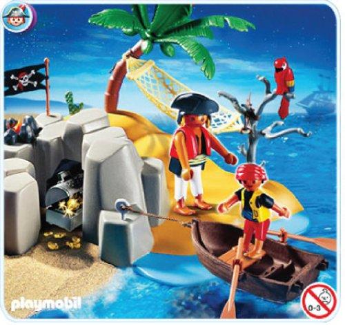 Playmobil Pirate Island Compact Set (2010 Compact)