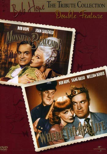 Signe Collection - Bob Hope Tribute Collection - Monsieur Beaucaire / Where There's Life Double Feature