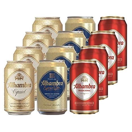 Alhambra - Selección Mixta de Cerveza (12 x 330 ml)