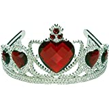 Ruby Heart Tiara