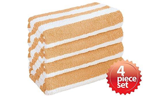 Absorbent Cabana Stripe Cotton 4piece product image