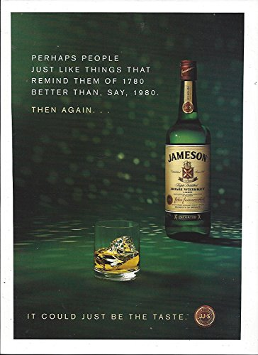 --PRINT AD-- For Jameson Irish Whiskey People Like Things That Remind Them