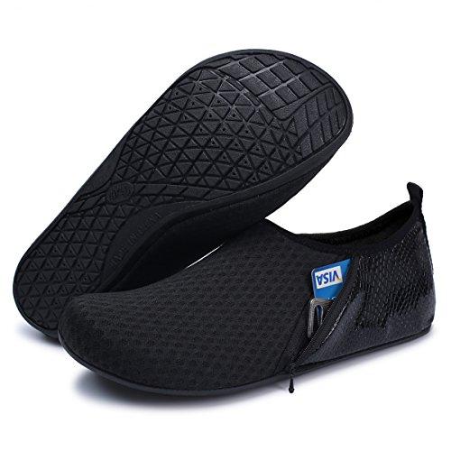 Surf Sport Zipper Outdoor Beach Aqua Shoes Black Womens Yoga Barerun Socks Water Swim Mens for ABZxvq