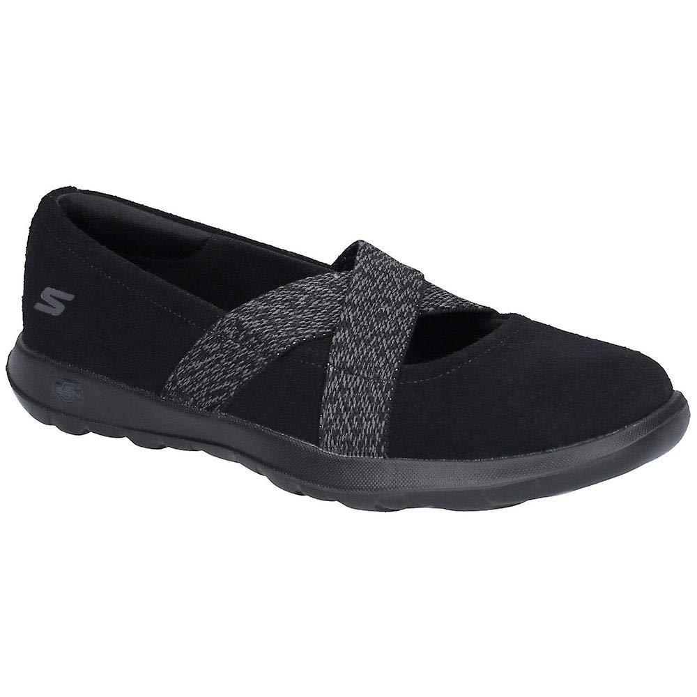 Skechers Femmes Go Walk Lite Chaussures Noir 38 EUR  -