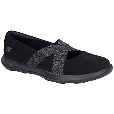 b9bfeb427 Skechers Womens GoWalk Lite Cherished Slip On Casual Shoes: Amazon ...