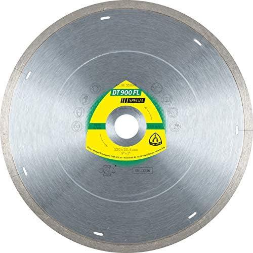 KLINGSPOR 331049 DT 900 FL Diamanttrennscheiben 300 x 2,2 x 30 mm 2,2 x 7 mm geschl. Rand m. Laserschlitzen (Inhalt: 1)