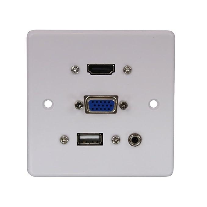 1 opinioni per Lindy 60220piano cottura da parete VGA/HDMI/USB/Jack 3,5mm stereo