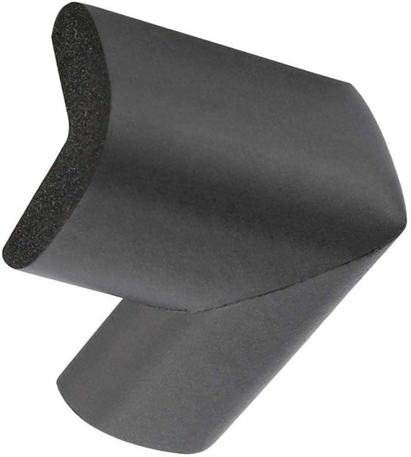 Fournitures de s/écurit/é pour Enfants Protection des Coins de Table Angle Anti-Collision Bureau pour b/éb/é Protection des Coins rembourr/és Anti-Collision Noir
