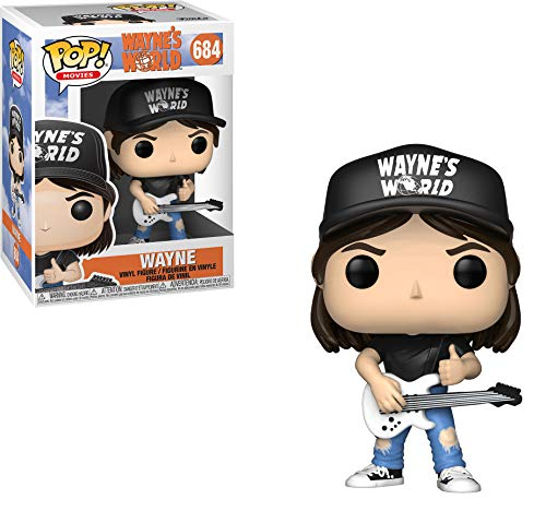 Funko Pop Movies: Wayne's World - Wayne Collectible Figure, Multicolor