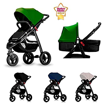 Star Ibaby All Road - Cochecito de bebe, color Black