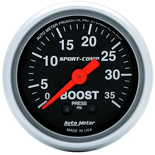 Auto Meter 3304 Sport-Comp Mechanical Boost ()