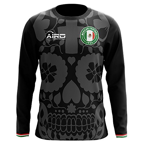 Airo Sportswear 2018-2019 Mexico Long Sleeve Third Concept Football Soccer T-Shirt Jersey