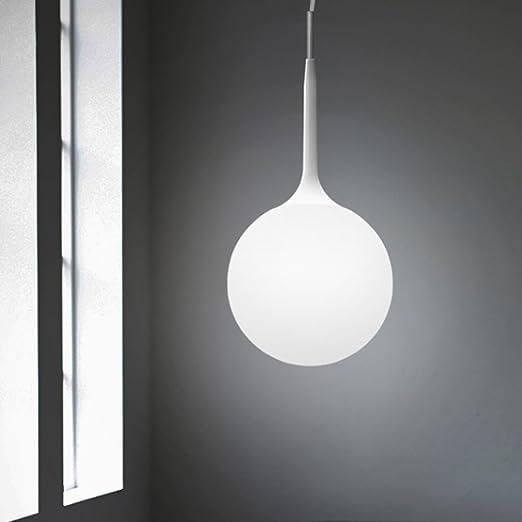 Lampadari A Palla Moderni.Nclon Moderno Semplice Creativo Soffitto Vetro Palla Lampada A Sospensione Lampada Da Soffitto Confezione Singola Salotto Camera Da Letto E27