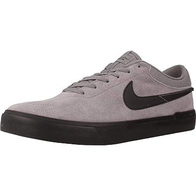 size 40 250a5 011da Nike SB Koston Hypervulc, Chaussures de Skateboard Homme, Gris  (Gunsmoke Black 007